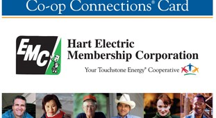 a picture of the Co-Op Connection s card