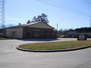 Hart EMC's district office in Toccoa as seen from US highway 123